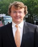 Portraitfoto von Prinz Friso von Oranien-Nassau von Amsberg
