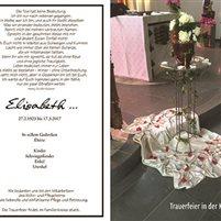 """Innenansicht """"Mein Trauerbuch"""" in individueller Ausstattung"""